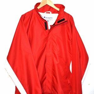 Champion Full Zip Red/White Men's Coat